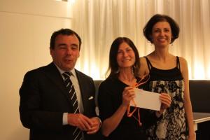 Monica Dogi premiata da Zenzero Comunicazione