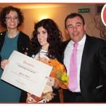 Letizia Capra riceve il premio Employer of the Year 2013