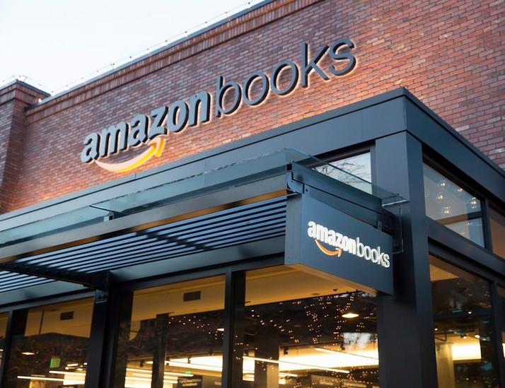 Ingresso del negozio Amazon a  Seattle