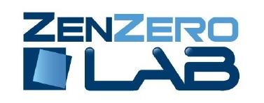 """Scritta """"Zenzero Lab"""""""
